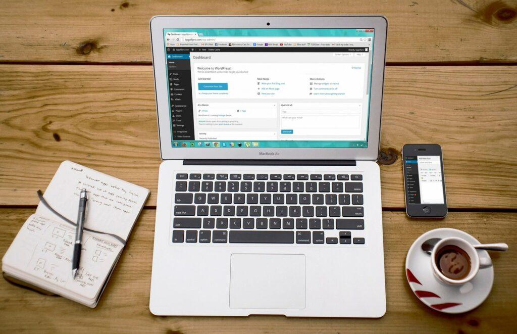 Anleitung um deine eigene WordPress Webseite zu erstellen