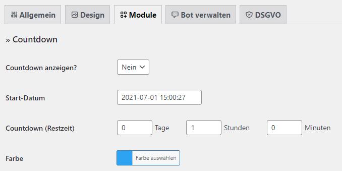 Counter für WordPress Wartungsmodus deaktivieren