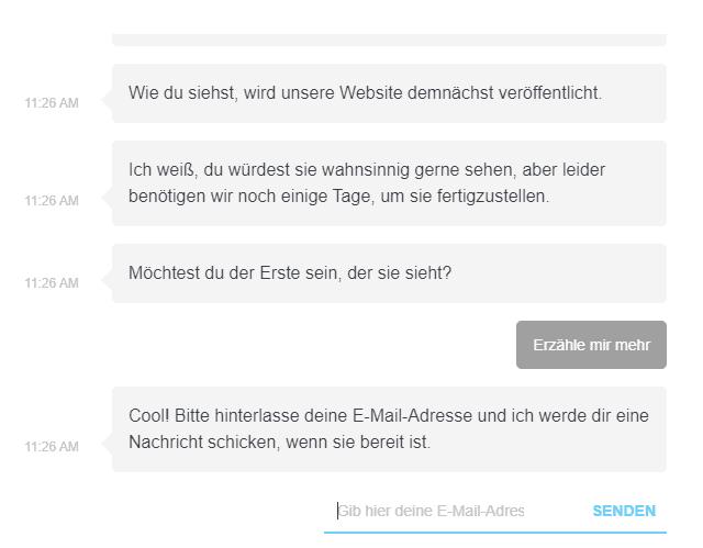 WordPress Wartungsmodus und Chatbot nutzen